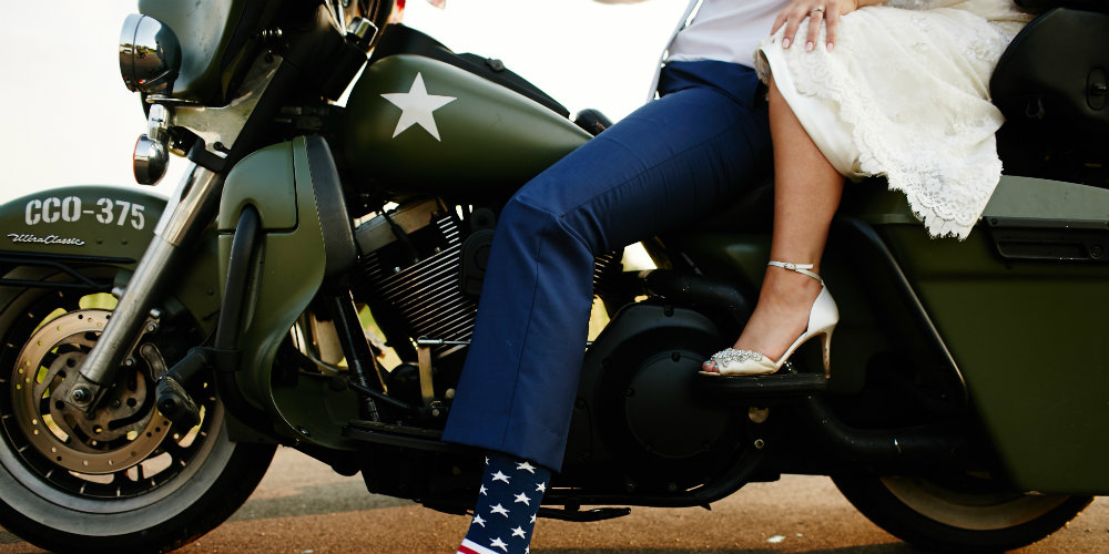 Daniels Wedding motorcycle 1000 x 500