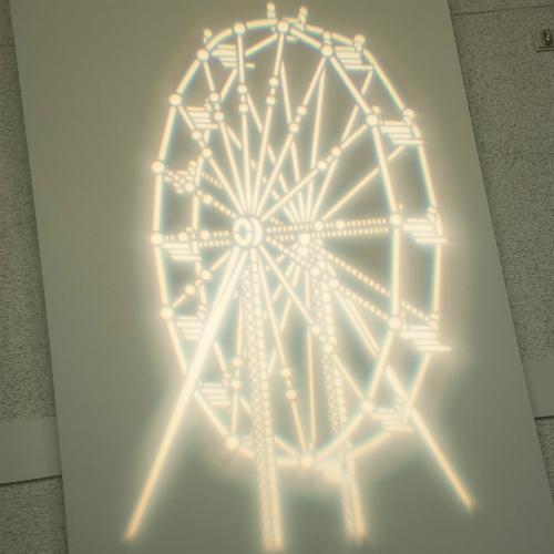 Weisberg Rutman Mitzvah Ferris Wheel Gobo 500 x 500