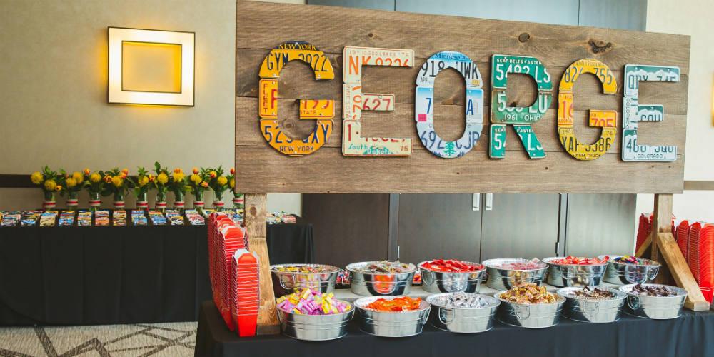 2018GeorgeLaskinBarMitzvah candy buffet