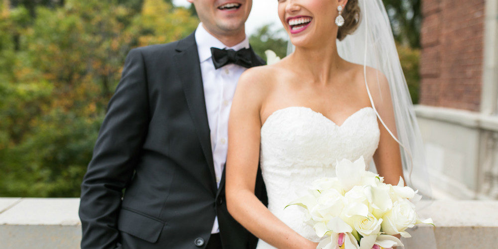 Ewald Vortherms smiling b and g with bouquet 1000 x 500