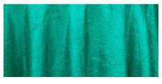 Jade crush taffeta table linens