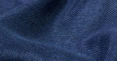 Navy imitation burlap fabric rentals