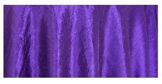 Purple crush taffeta table cloths