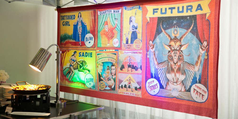 State fair buffet sign
