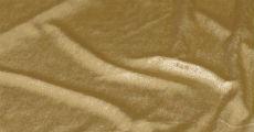 Gold velvet table linens