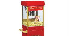 Small popcorn machine