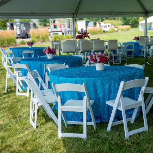 Blue Turquoise Tables