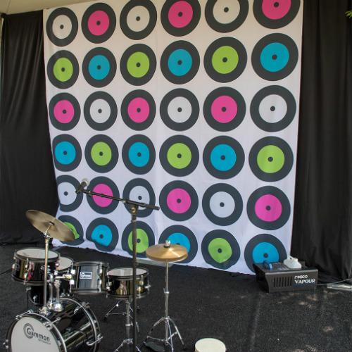Drum Set Backdrop