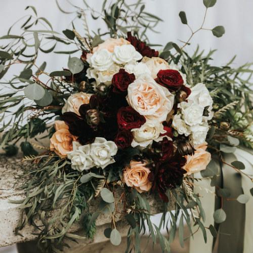 Alex and Anna Barrick Flowers