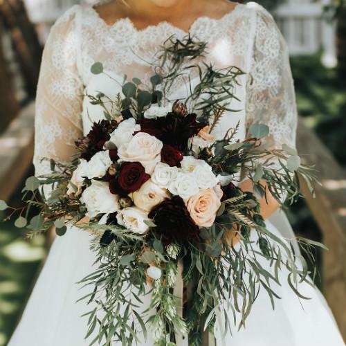 Alex and Anna Bridal bouquet