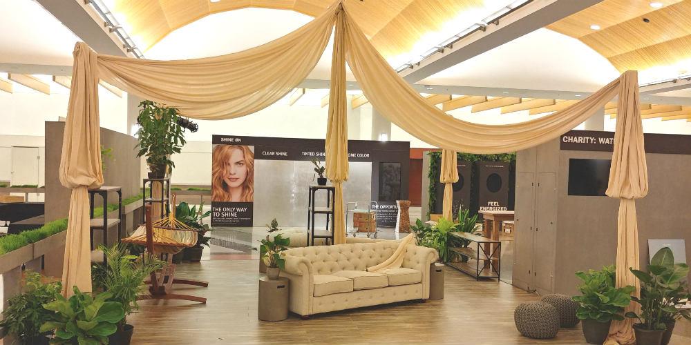 Aveda Congress Lounge Room