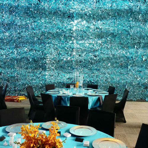 Be The Match - Turquoise Wall