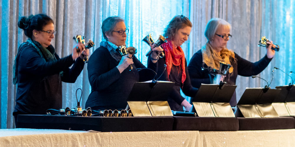 Mosaic Holiday 2018 Bell Ringers