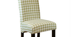 Houndstooth Chair Moss Green