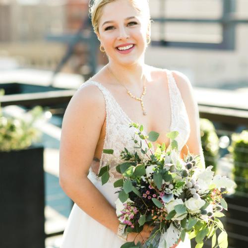 Claire and Alex Flitsch bride